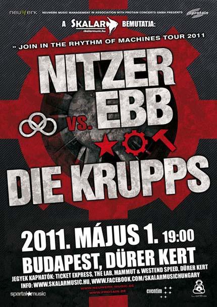 NITZER EBB / DIE KRUPPS Live in Budapest